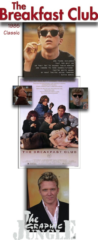 Breakfast Club (1985 John Hughes, Univ)-poster 01v_white_13in