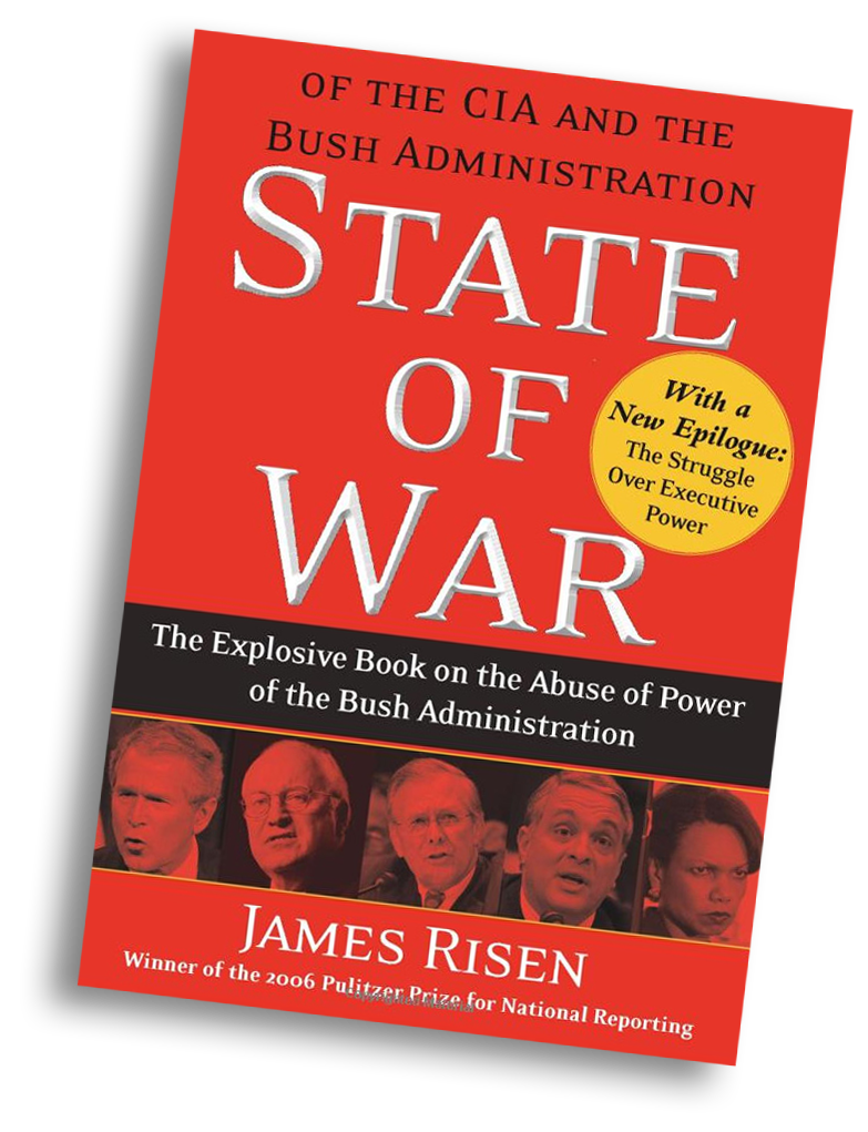 State of War book by James Risen, 2006